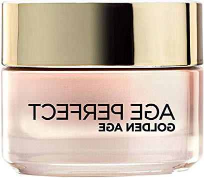L'Óreal Paris Age Perfect – Crema Rosa Anti Arrugas Golden Age, para Pieles Maduras, 50 ml