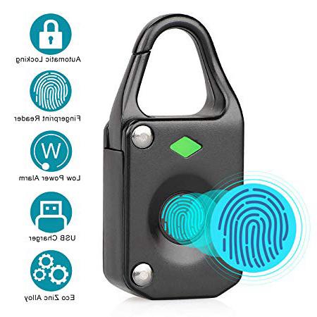 Candado Inteligente Candado Sin Llave,N/úcleo de Bloqueo de Chip,Bloqueo de Bluetooth,App Control para Puerta,Mochila,Gimnasio,Maleta,Oficina,para Android//iOS Smart Lock Tangxi Candado Bluetooth