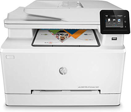 HP Color Laserjet Pro MFP M281fdw – Impresora multifunción láser (WiFi, fax, copiar, escanear, Imprimir en Color, 21ppm), Color Blanco