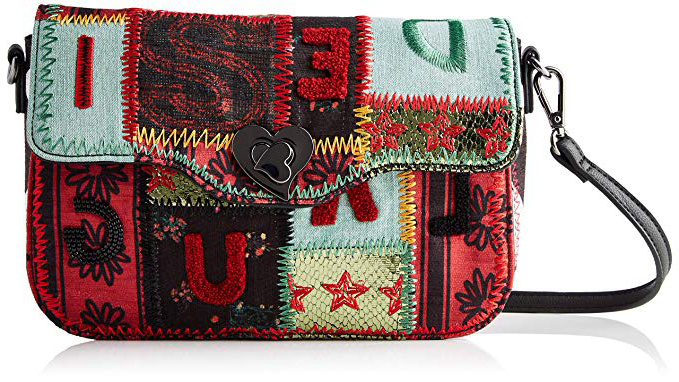 Desigual Bolso Patch 1970 Amorgos Green