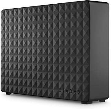 "Seagate Expansion - Disco Duro Externo de Desktop 3.5"" para PC, Xbox One y Playstation 4 (6 TB, USB 3.0), negro"