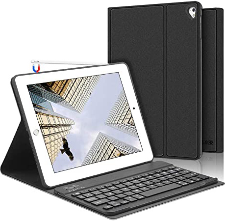 SENGBIRCH iPad Teclado Funda, Funda